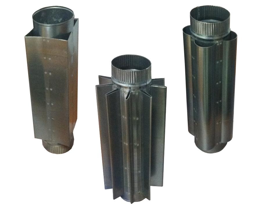 Труба конвектор на дымоход проверка дымохода в подольске